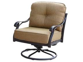 darlee outdoor living nassau replacement swivel rocker club chair seat and back cushion