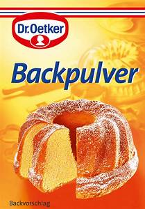 Backpulver Backpulver & Natron von Dr Oetker