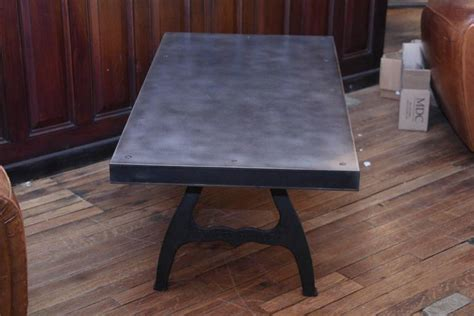 Steel Top Coffee Table With Cast Iron Industrial Legs For Puns On Coffee Rook Roasting Facility About Cups Pocket Pubblicit� 2018 What Album Is Starfish And Religious Prom Liquore Bimby