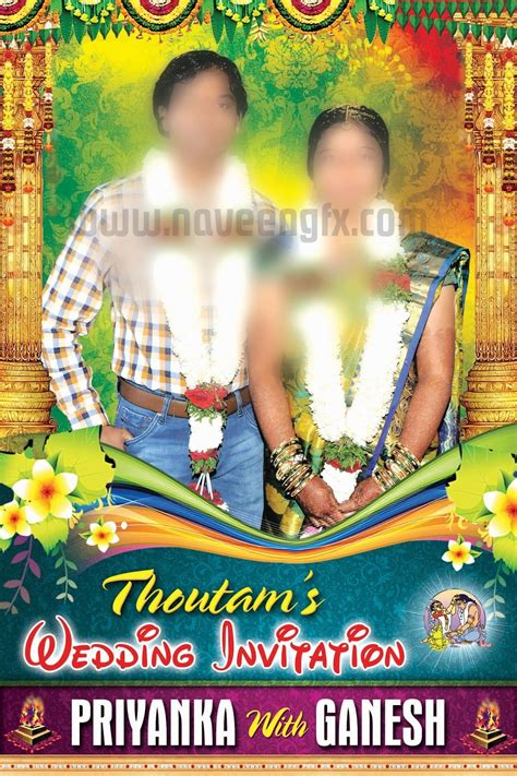 naveengfxcom wedding flex banner indian wedding