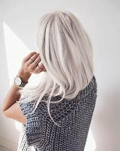 Blond Grau Haarfarbe : die besten 25 silber blond ideen auf pinterest silberblonde haare graue blondine und graue ~ Frokenaadalensverden.com Haus und Dekorationen