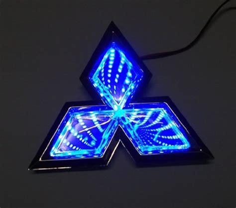 car  led logo lights emblem badge sticker lamp