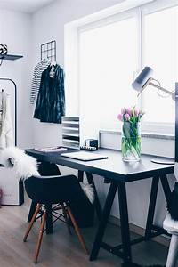 Büro Zuhause Einrichten : mein blogger home office stylisch aber funktional who is mocca ~ Frokenaadalensverden.com Haus und Dekorationen