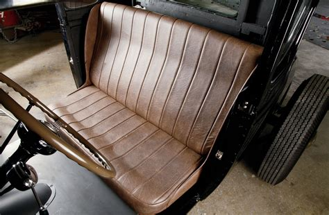 leather bench seat 1931 ford coupe torch song rod network