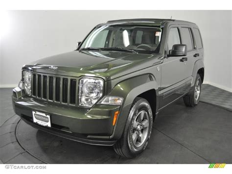 green jeep liberty 2008 2008 jeep green metallic jeep liberty sport 4x4 52040012