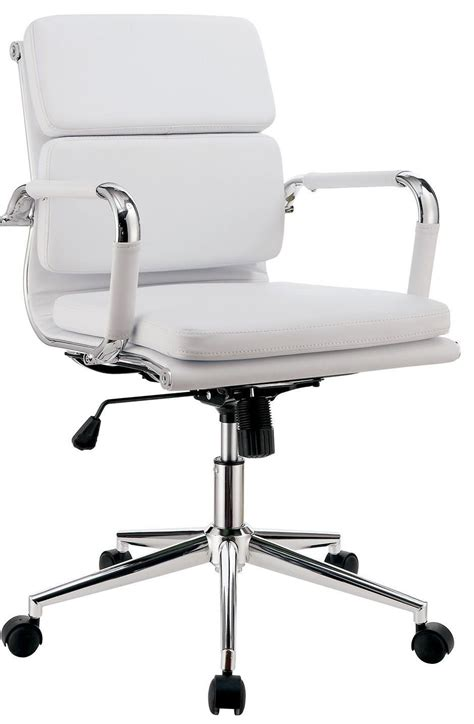 mercedes white small office chair cm fc636s wh furniture