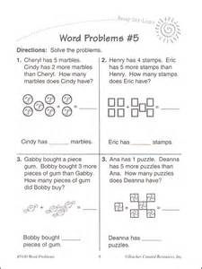Grade 1 Addition Word Problems