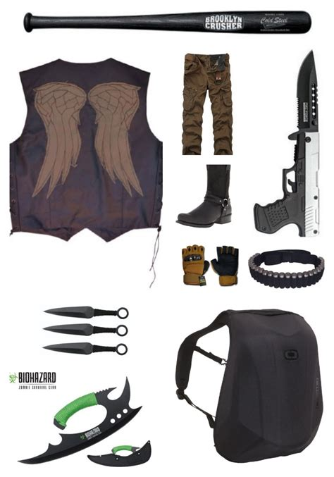 apocalypse zombie gear daryl dixon guide edition weapons survival backpack outfit badasshelmetstore tactical dead karl walking need motorcycle apocolypse helmets