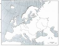 Best 25 ideas about blank map of europe find what youll love world war 1 europe map blank gumiabroncs Image collections