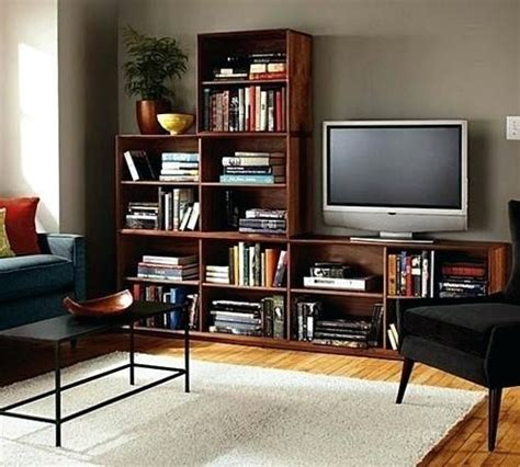 Tv Stands With Bookcases by Living Room Bookcase Tv Stand With Matching Bookcases