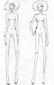 the gallery for gt high fashion croquis back With figure templates for fashion illustration