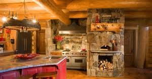 log cabin kitchens kitchen backsplash patterns kitchen home ideas luxury home stay