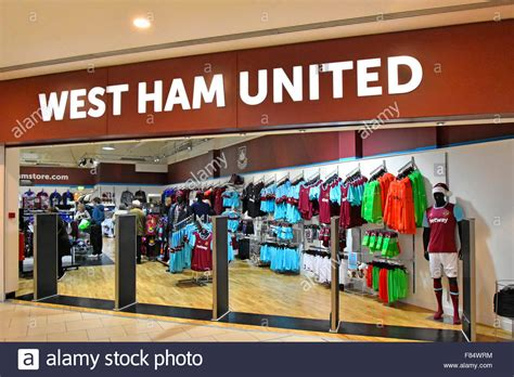El West Ham United Football Club Kit Store Tienda Abierta