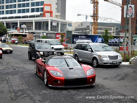 koenigsegg mexico koenigsegg ccx spotted in mexico city mexico on 04 29 2015