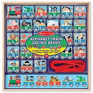 alphabet train lacing beads learning activity toy With alphabet train learning letters