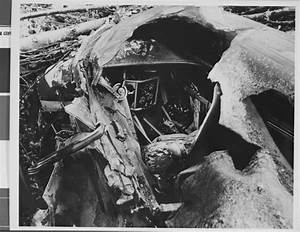UNLV Libraries - Howard Hughes: Photograph of crash of ...
