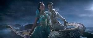 Aladdin and Jasmine Take a Magic Carpet Ride in New Scene ...