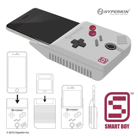 gameboy for iphone hyperkin smart boy turns the iphone into a working