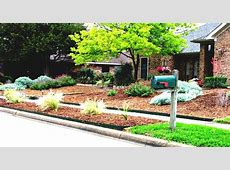 Garden And Patio Large Low Maintenance Simple Front Yard