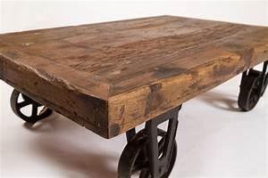 Couchtisch Recyceltes Holz : couchtisch aus altem holz russ einrichtungen ~ Whattoseeinmadrid.com Haus und Dekorationen
