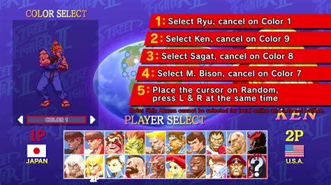 Ultra Street Fighter 2 For The Switch Akuma Unlock