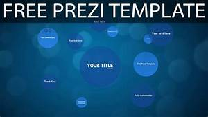 blue circles free prezi template youtube With how to download prezi templates
