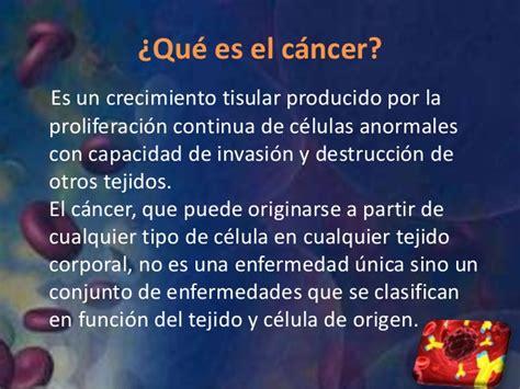 q es el cancer apoyando la lucha contra el cancer