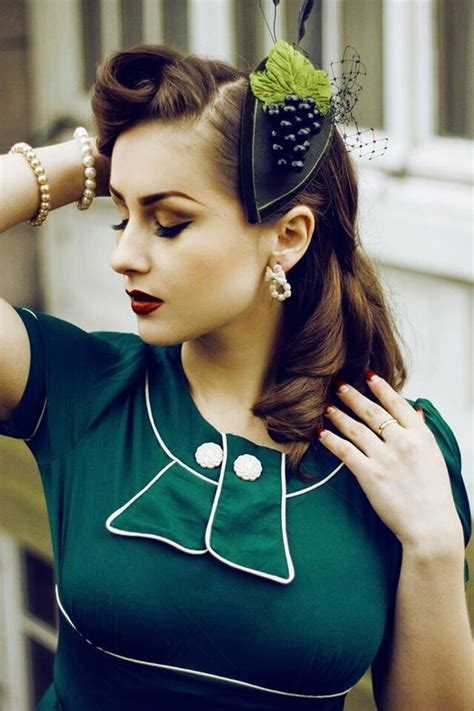Modern 1940s Hairstyles by 1940s Hairstyles For Womens To Try This Year Feed