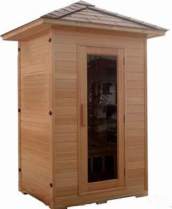 2 Mann Sauna : 1 2 two person canadian hemlock outdoor fir infrared sauna ~ Lizthompson.info Haus und Dekorationen