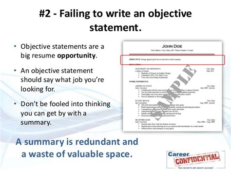 Top 10 Worst Resume Mistakes by 10 Deadly Resume Mistakes To Avoid At All Costs
