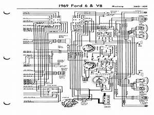 Wiring Diagram For A 1971 Ford Mustang Mach 1  U2013 Readingrat