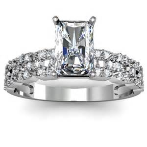 radiant engagement rings radiant shaped rings engagement rings review