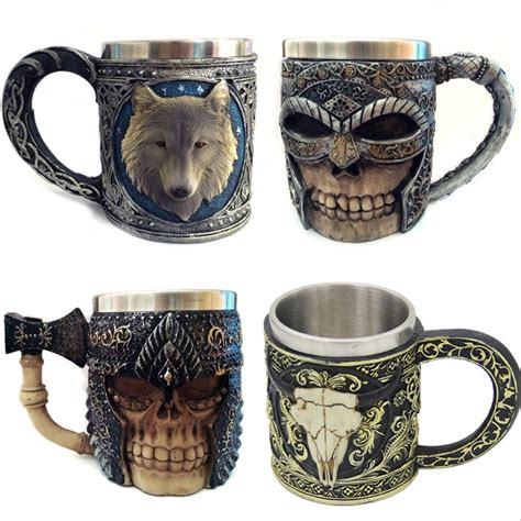 Current wholesale coffee offerings from all of the leading wholesale suppliers, gathered and presented daily by wholesalecentral. New Funny 3D Axe Wolf Goat Coffee Cup Stainless Steel Resin Skeleton Mark Mug Creative Drinkware ...