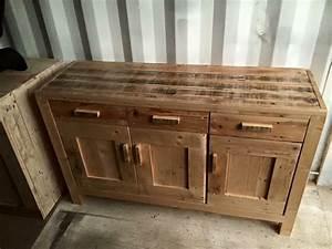 DIY Pallet Cabinet Unit Pallet Furniture Plans