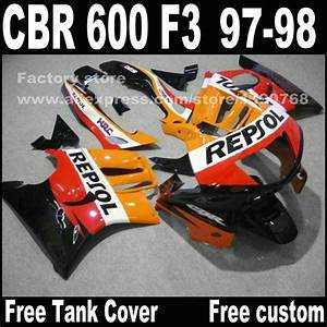 Motorcycle Parts For Honda Cbr 600 F3 Fairings 1997 1998