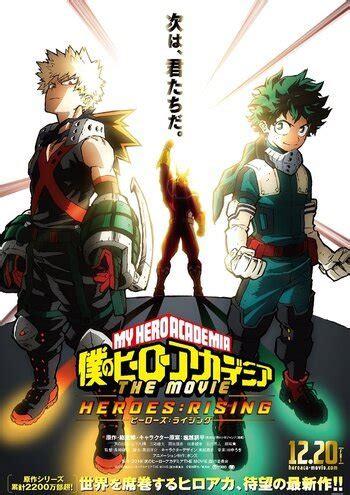 hero academia   heroesrising anime planet