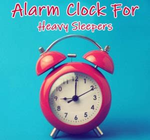 Best Alarm Clock Heavy Sleepers - 10 best alarm clocks for heavy sleepers reviews photos