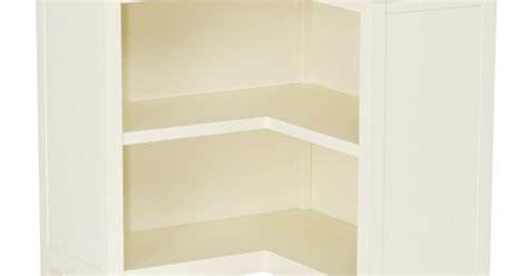 Cameron Corner Bookcase, Simply White
