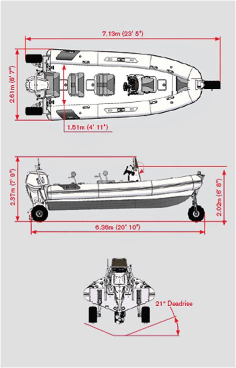 Rib Boat Dimensions by Research 2013 Sealegs Professional 71m Rib On Iboats