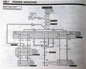 Power Window  U0026 Door Lock Wiring