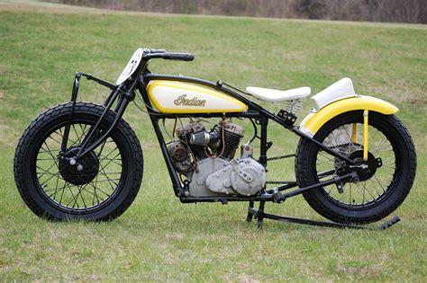 Vintage Flat Track Racing Motorcycles