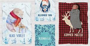 Personalized Christmas Baby Blankets 27 Designs Jane