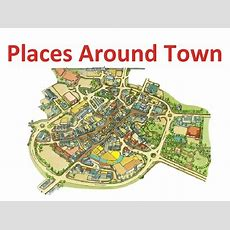 Places Around Town Powerpoint Presentation