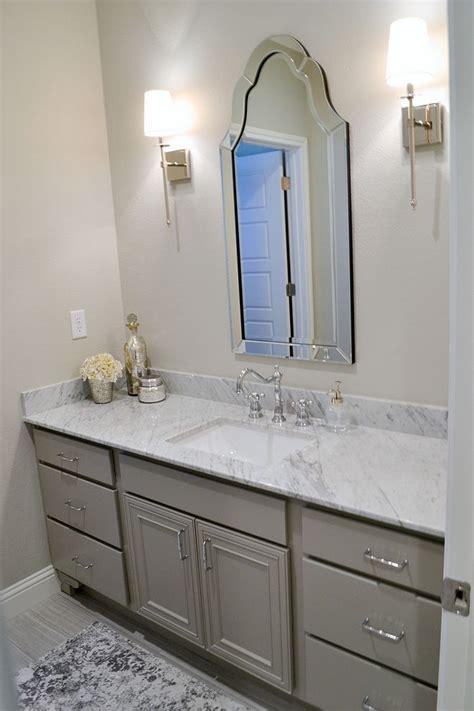 grey bathroom cabinet paint color sherwin williams dorian