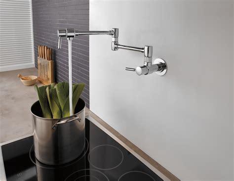 euro wall mount pot filler faucet