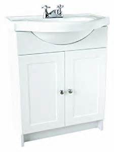 design house 541656 vanity combo white vanity bathroom cabinet with 2 doors 25 inch by 18 inch