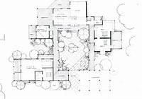 courtyard house plans The Courtyard House   Heather Fraser Building Designer