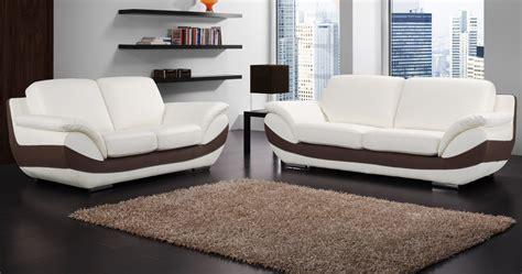 canapé cuir moderne canapé bruno personnalisable sur univers du cuir