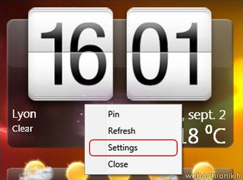 horloge pour bureau windows 7 horloge pc bureau gratuit