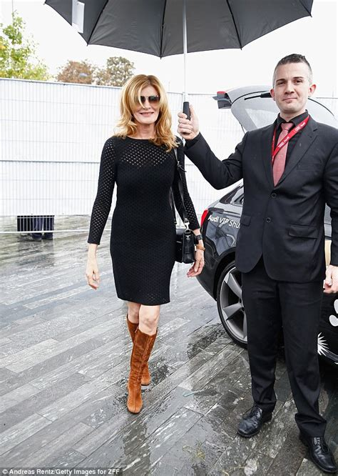 rene russo boots thomas crown rene russo 60 shows off her lovely legs in shimmering